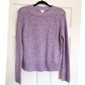 H&M Lavender Crew Neck Sweater Size M
